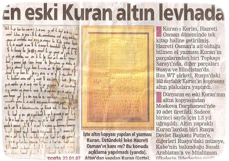Kuran'ın Aslı Yakıldı mı? Kuran'ın Yazılması, çoğaltılması