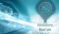Ateistlere Kur'an dersi